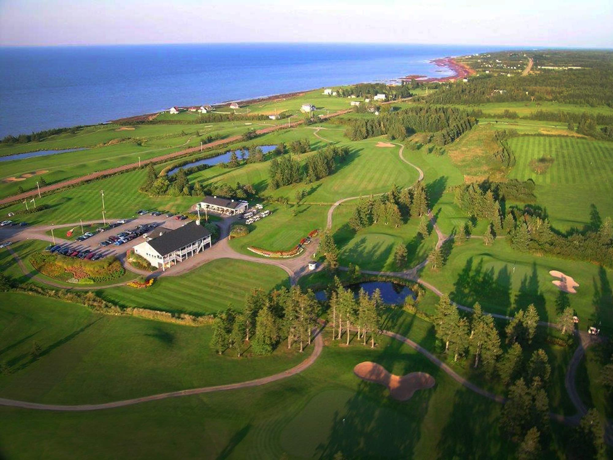 Nova Scotia Golf Events Aerial Shot