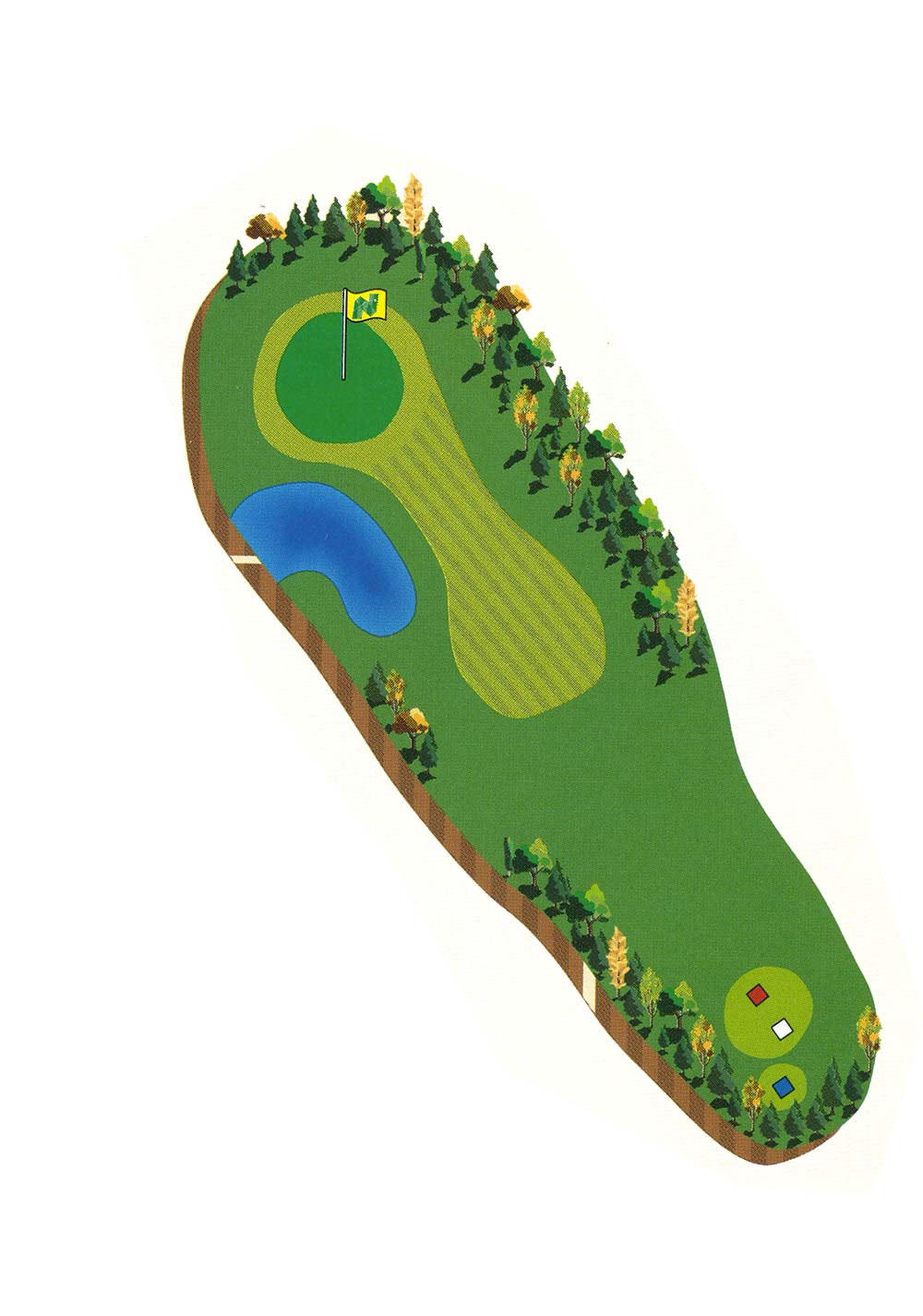 Course Description - Hole 12