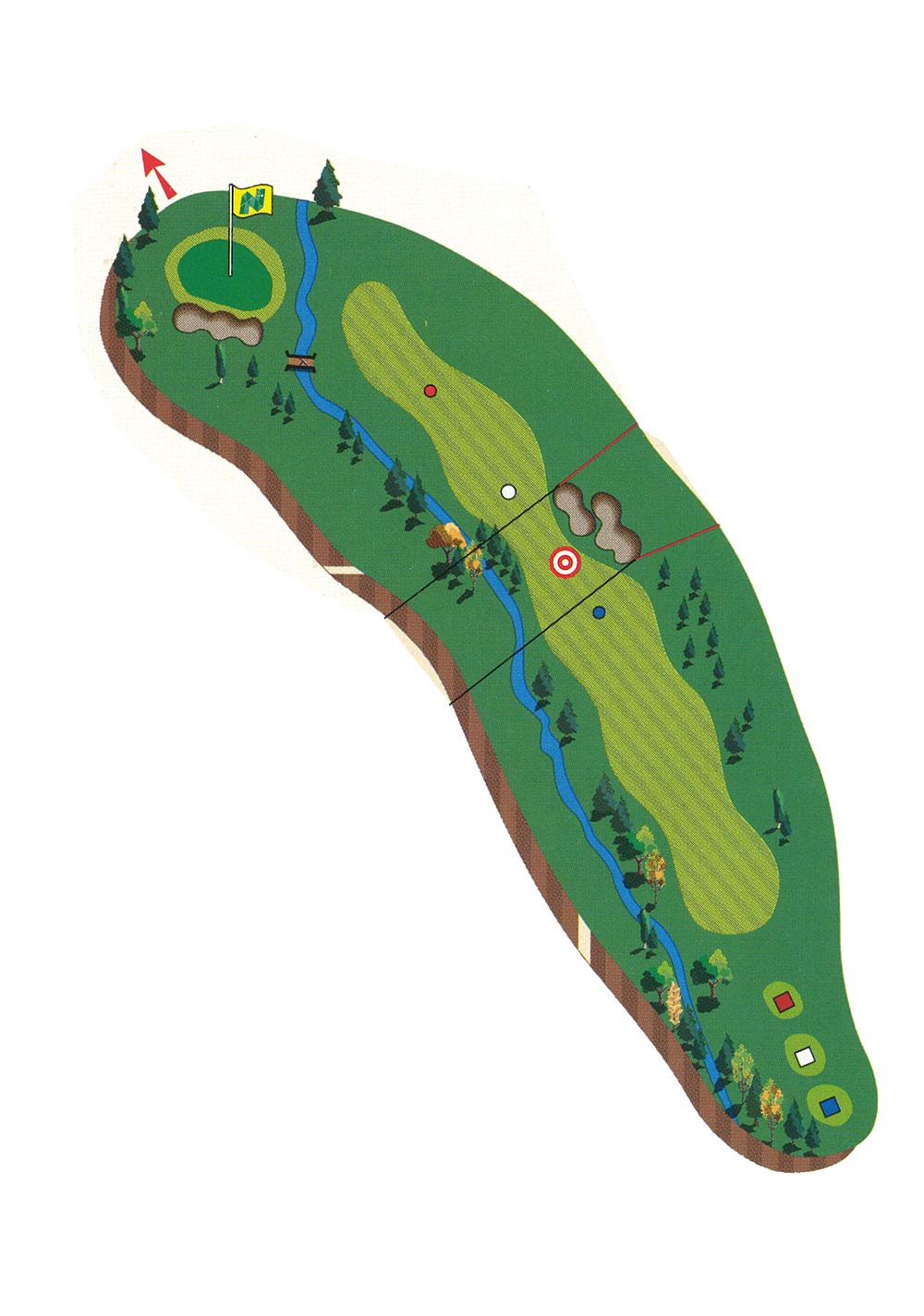 NS Course Description - Hole 16
