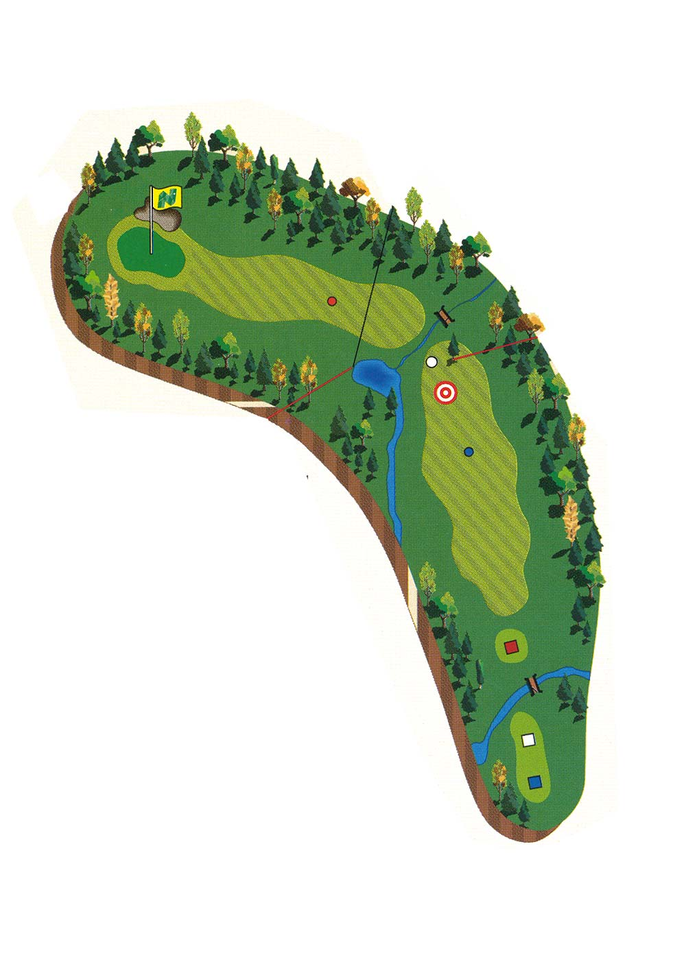 Course Description - Hole 8
