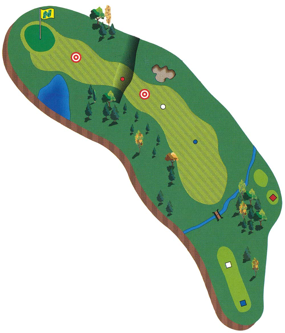 Course Description - Hole 1